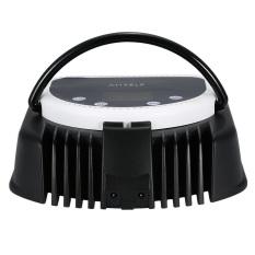 Anself 110-240V 64W Pro 32pcs LED Nail Dryer Lamp Curing MachineWith Lifting Handle Touch Sensor LCD Screen Powerful Nail PolishGel Dryer Salon Tool UK Plug White - Intl
