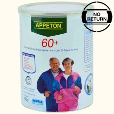 Appeton 60 Plus Vanilla - 450gr