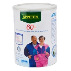 Appeton 60 Plus Vanilla - 450gr - Kaleng Penyok