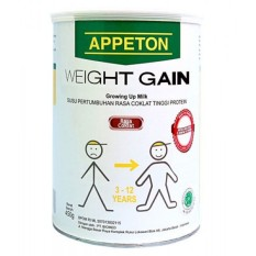 Appeton Weight Gain Susu Rasa Cokelat 900gram Child-Anak