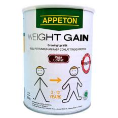 Appeton Weight Gain Susu Rasa Cokelat Anak - 900 gram Child Coklat