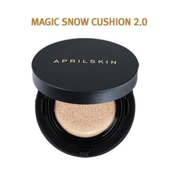 April Skin - Magic Snow Cushion Black 15g Light Beige