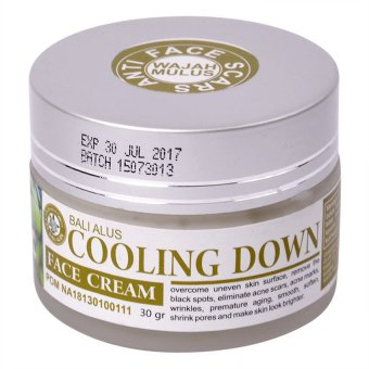 Bali Alus - Cooling Down Face Cream - 30gr