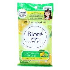 Biore Sarasara Body Powder Sheets - Fresh Citrus