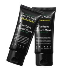 Black Mud Deep Cleansing Purifying Peel Off Facail Face Mask Black - intl