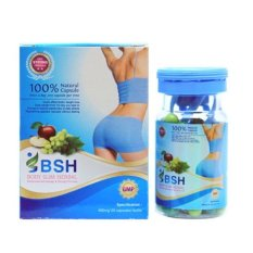 BSH Capsul - Body Slim Herbal Kapsul New Pack