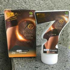 Cara Diet Cepat Obat Pelangsing Badan 7 Day Slim Platinum Terbaru 350mg - Original