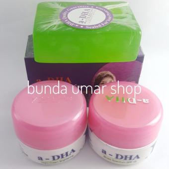 Cream Adha White Series Paket Ekonomis Original BPOM