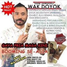 Cream Alis Wak Doyok - Cream Penumbuh Rambut Jambang Jenggot Herbal - 75 mL
