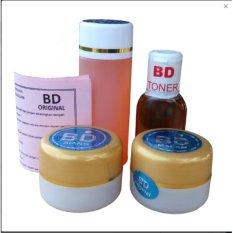 Cream BD Original Bandung - Paket Cream BD Asli Berhologram- Cream Pemutih Wajah Sabun Lemon- Beli 5 Paket Gratis 1