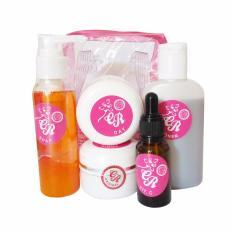 Cream CR Pink Asli - Paket Krim CR Pemutih Wajah 5 in 1