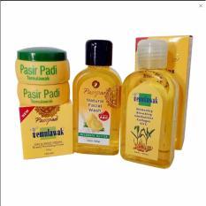 Daftar Harga Pasir Padi Toner Temulawak Whitening Bleaching 100ml Source Cream Temulawak Original .