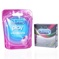 Durex Performa isi 3 pcs & Durex Play Vibration Ring
