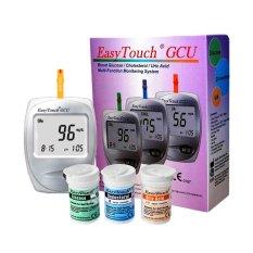 Easy Touch / Cek Kolestrol Asam Urat & Gula Darah 3in1 Easytouch - Putih