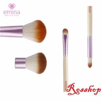 Emina Brush Set Brush - 4 kuas