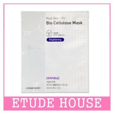 ETUDE HOUSE Real Skin Fit Bio Cellulous Mask [BRIGHTENING] 28g