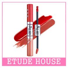 ETUDE HOUSE Twin Shot LIPSTINT 8g (#RD302 Dusty X Rose Shot)