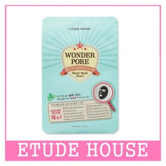 ETUDE HOUSE Wonder Pore Black Mask Sheet 21ml