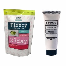 Fleecy Bangle Tea dan Slimming Gel - Paket Pelangsing