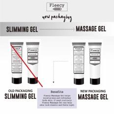 Fleecy Slimming Gel Kemasan Baru - Fleecy Massage Gel Lotion Pelangsing