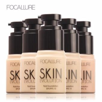 FOCALLURE Foundation Natural Color Moisturizer Oil-Control Base Liquid SPF15 shade #5