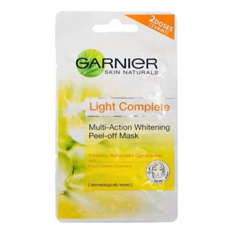 Garnier Light Peel-Off Mask 2x6ml