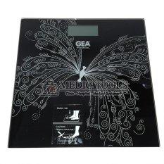 Gea Timbangan Digital - Motif Kupu-Kupu hitam