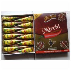 Golecha Henna Mirchi Merah Cabe 1 box isi 12tube