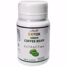 Green Coffee Bean Hendel Exitox Extract 500Mg 30 Kapsul Original Asli Pelangsing Alami Ampuh Aman Bahan Kopi Hijau Berkhasiat Membakar Lemak Diet Melangsingkan Membersihkan Usus Detoksifikasi Tubuh Badan Ramping Slim Kaya Antioksidan