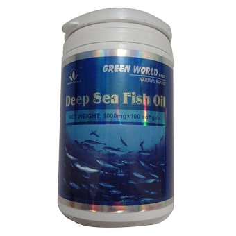 Green World Deep Sea Fish Oil Softgel