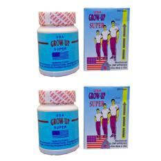 Growmax Grow Up Obat Herbal Peninggi Badan Obat Herbal Peningkat IQ dan Stamina - 2 Botol