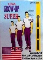 Growmax Grow-Up Super USA - Suplemen Peninggi Badan Cepat dan Alami