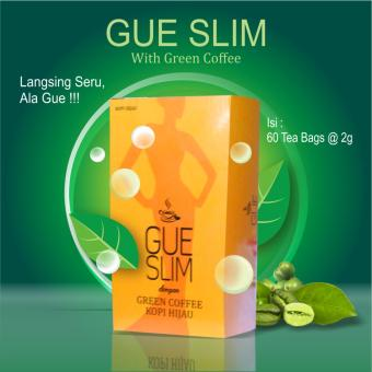 Gue Slim With Green Coffee (Isi 60 Tea Bags)