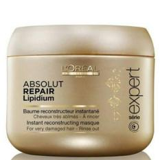 HAIR MASK- Loreal Professionnel Serie Expert Absolut Repair Lipidium ( INOVASI TERBARU )