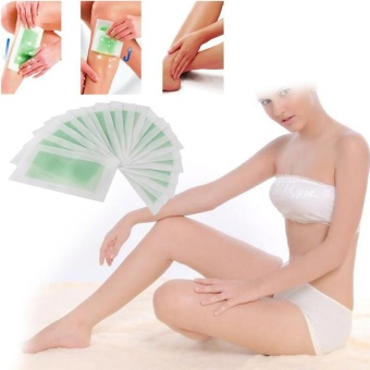 Hair Removal Depilatory Strip Nonwoven Epilator Paper Waxing Body Bikini Hot - intl