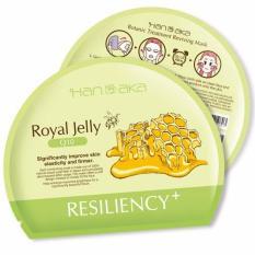 Hanaka Royal Jelly + Q10 Face Sheet Mask