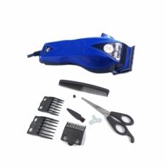 Happy King HK-900 Professional Hair Clipper Trimmer Mesin Alat Cukur - Biru Tua