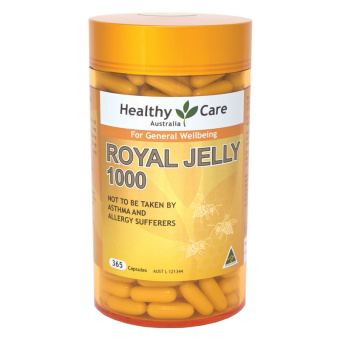 Healthy Care Royal Jelly 1000 - 365 Capsules