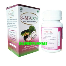 Herbal Ekstrak Kapsul S-Max's Kulit Manggis + Sirsak Inayah
