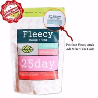 HOKI COD - Fleecy Bangle Tea - Slimming Tea - Teh Pelangsing Premium Original 100% - 1 Pack Isi 25 Sachet