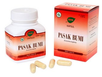 Jamu IBOE Pasak Bumi Herbal Supplement 3 botol @30 kapsul