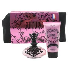 Jeanne Arthes Guipure & Silk Rose Woman Beauty Bag (Gift Set) - 100 ML EDP