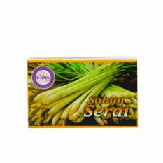 K-DHA Soap / Lemon Grass Soap / Sabun Sereh 2 x 40gr
