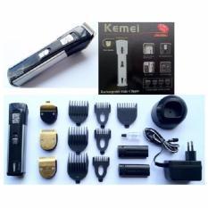 Kemei Rechargeable Hair Clipper Alat Cukur Rambut 3in1 Bayi Dan Dewasa 3006