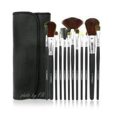 KrMart kuas makeup - Makeup For You Brush Set 12 Pcs