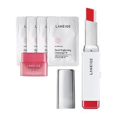 Laneige Two Tone Lip Bar - No.4 (Milk Blurring) + Hadiah Gratis