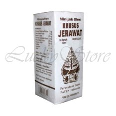 Lucky Wayang Obat Herbal - Minyak Oles Khusus Jerawat Cap Wayang Obat Jerawat - 35ml