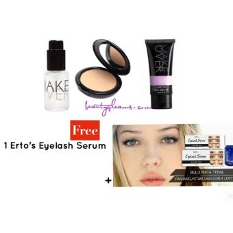 Make Over Corrective Base Make Up Package Free Erto's eyelash serum