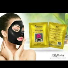Masker Lumpur Wajah Hanasui - Masker Naturgo Box (Black)