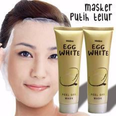 MASKER TELUR - EGG WHITE PELL OFF MASK